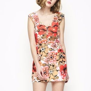 Alice McCall ready steady go floral dress size 2